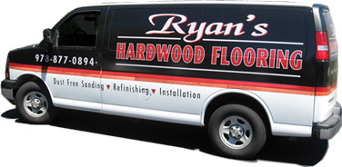 Ryan's Hardwood Flooring Van